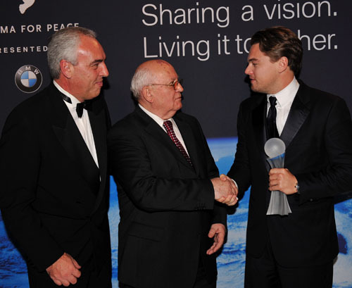 8th annual Cinema for Peace gala - February 9, 2009