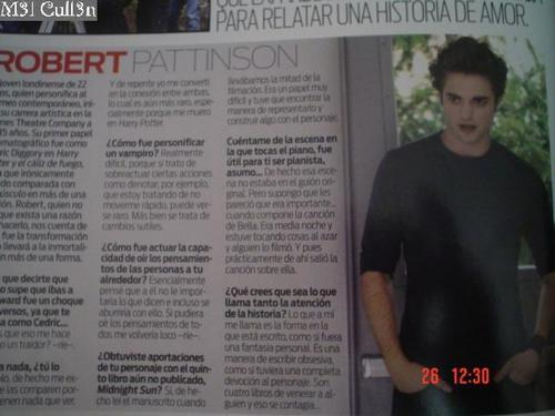 Robert Pattinson (Mexican Magazines, scans)