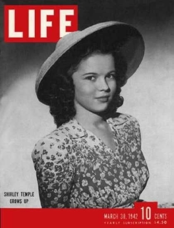 Shirley on the Cover of Life Magazine