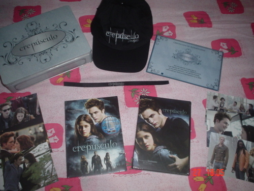 Twilight DVD Metal box LTD (Mexico)