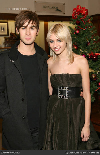 Chace & Taylor in a pasko Party