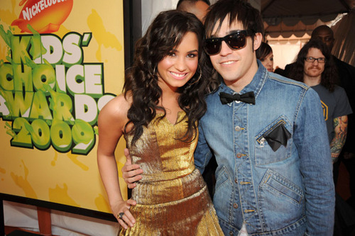 Demi at the 2009 Kids' Choice Awards