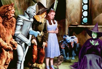 Dorothy And Friends,With the Wicked Witch