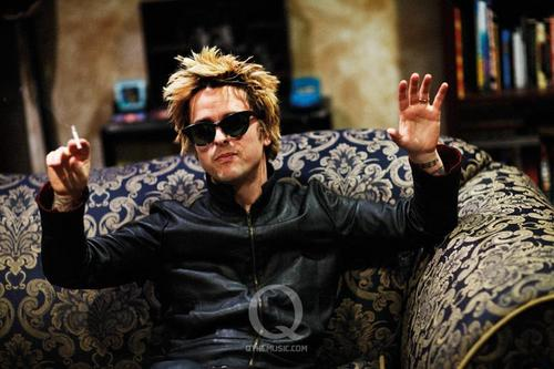 GREEN DAY BEHIND THE SCENES: Q Magazine Photoshoot 2009