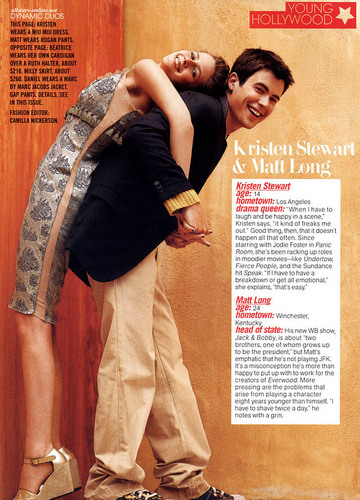 Kristen in Teen Vogue (October 2004)
