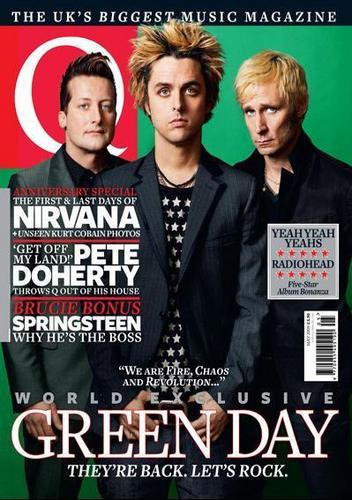 Q Magazine / May 2009 / Green Day