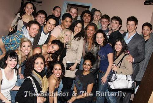 UB Cast Visits Cast of West Side Story