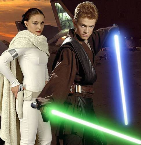 Anakin and Padme <3