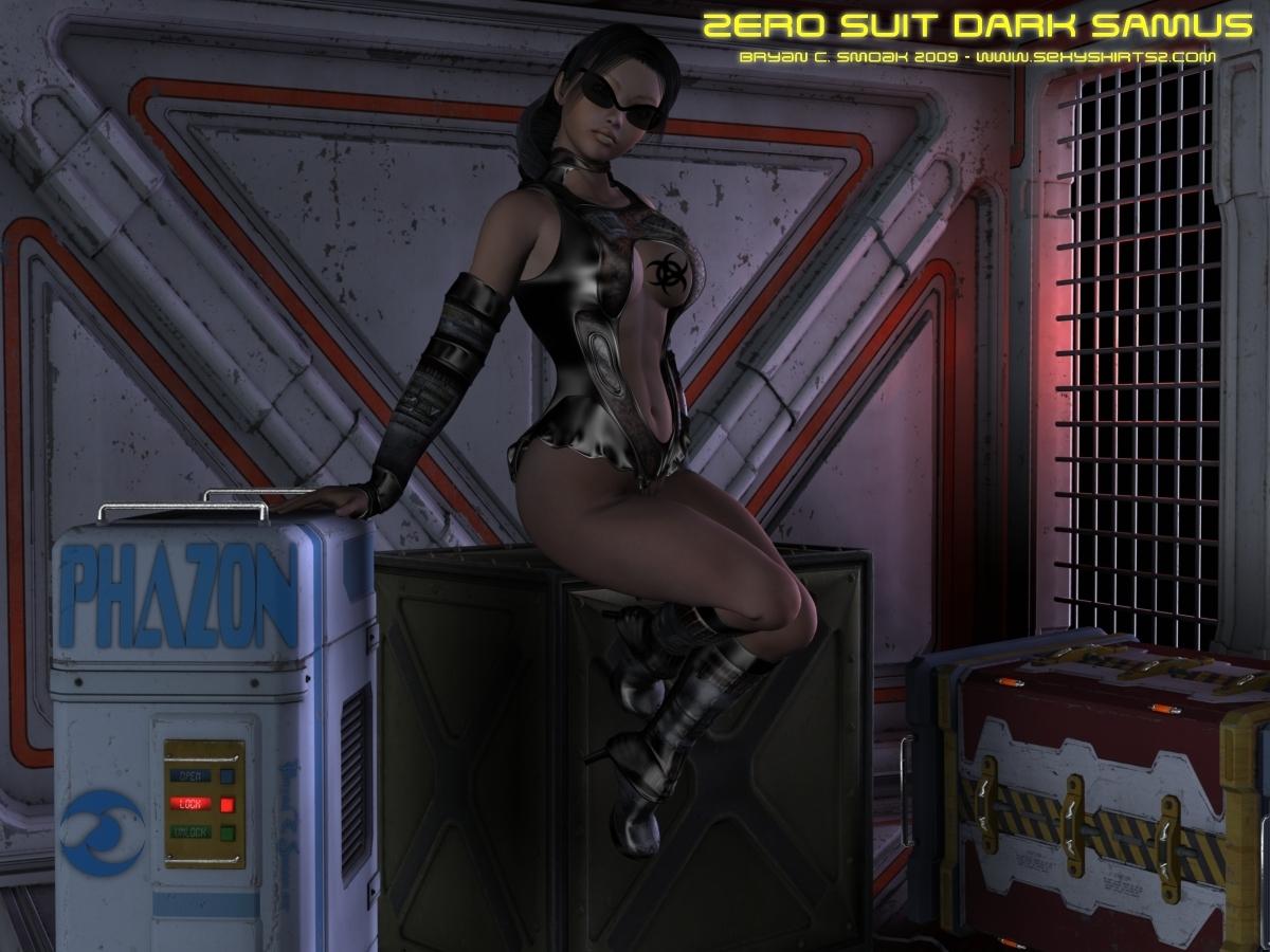 Dark Samus Aran Metroid Prime Zero Suit Art Metroid Prime Fan
