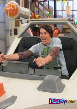 Spencer and his(Not Used in the movie galaxy wars)Spaceship