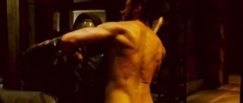 Wolverine Naked! (A Weapon X Scene)