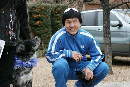 Jackie Chan in New Mexico - دن Two