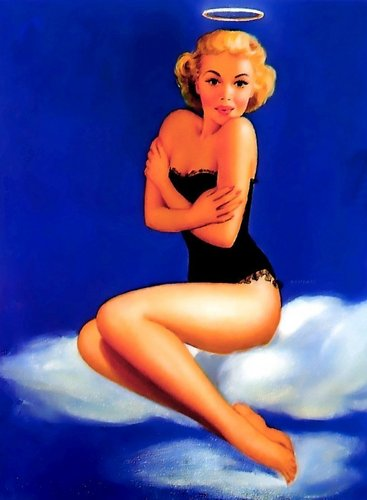 de Vorss Pin-Up