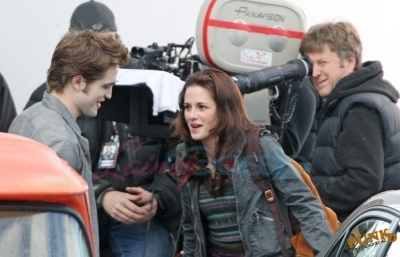 New Moon - On set