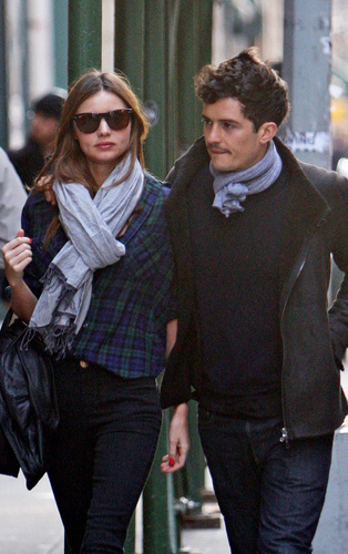 Orlando and Miranda in NYC