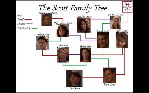 The Scott Family albero