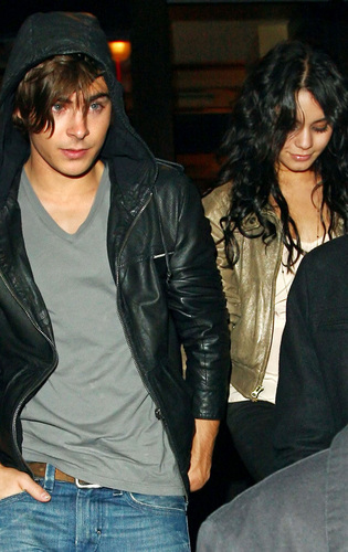 Zac and Vanessa at SNL afterparty