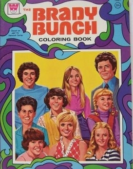 Brady Bunch Coloring Book