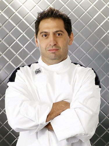 Chef Giovanni from Hell's jikoni Season 5