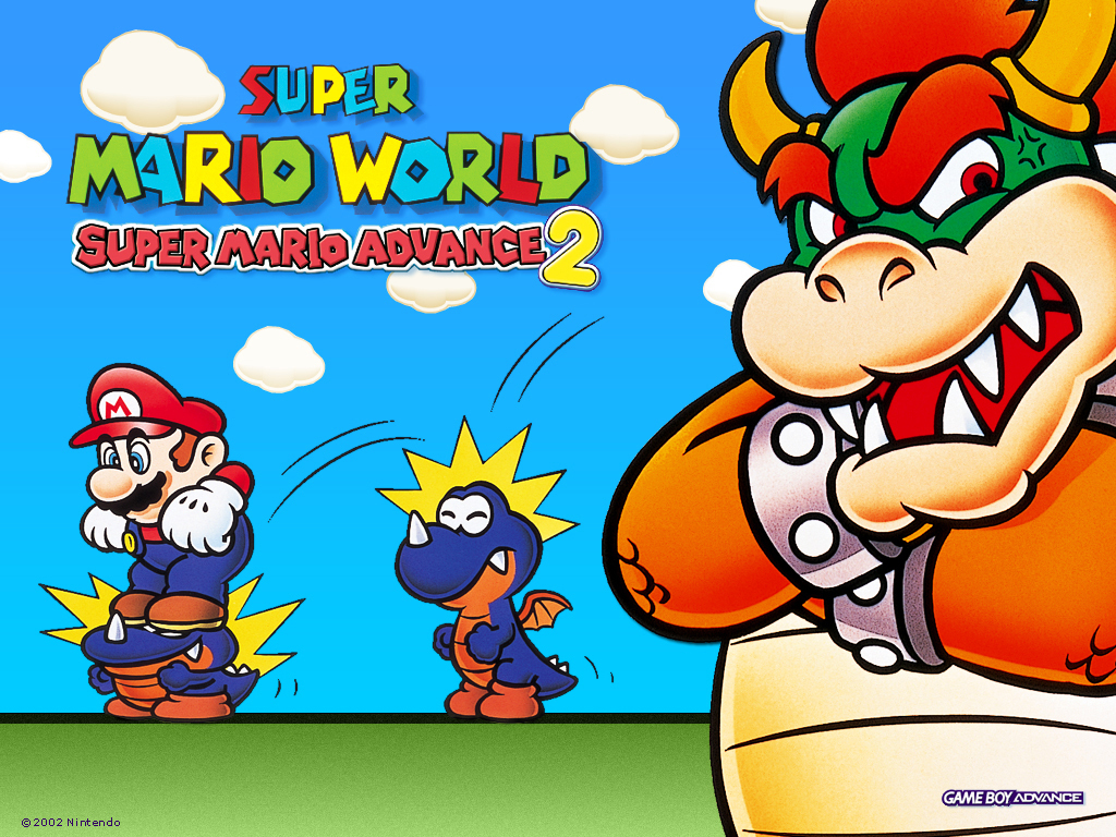 Super Mario Advance 2 Super Mario Bros Wallpaper 5601874 Fanpop