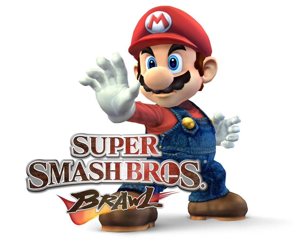 Super Smash Bros Brawl Mario Wallpaper 5614786 Fanpop