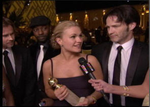 True Blood Cast @ Golden Globes 2009