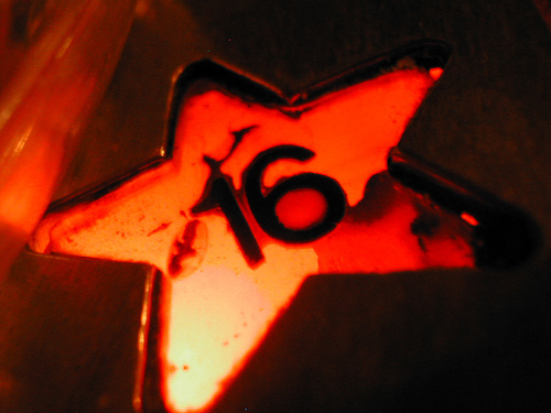 16 is a star, sterne