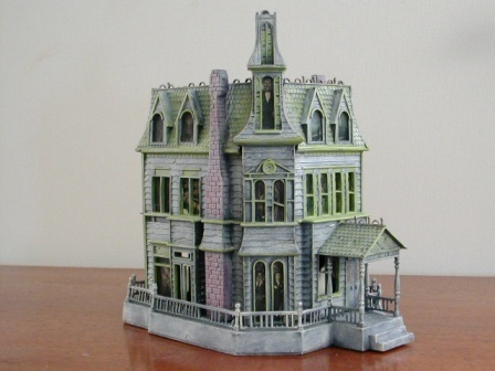 A Model of the Addams Family House