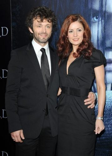 Michael Sheen and Loraine Stewart at the Underworld Rise of the Lycans Premiere