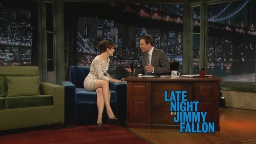 Rachel on Late Night with Jimmy Fallon - 4/17/09