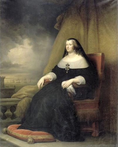 Anne of Austria as Widow of Louis XIII