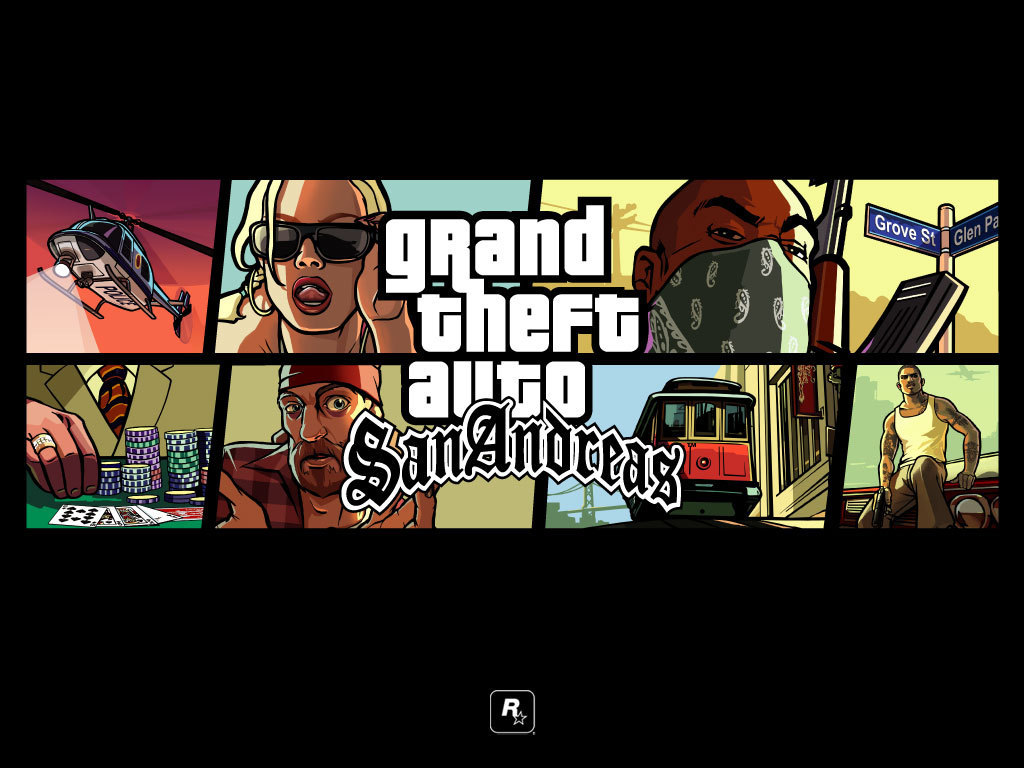 Gta San Andreas Grand Theft Auto 壁紙 5868135 ファンポップ