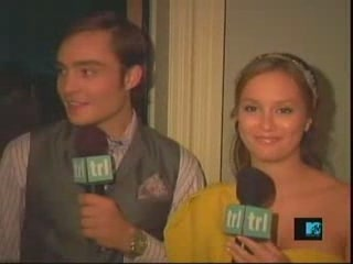 Leighton and Ed in TRL
