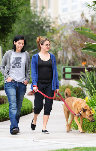 Nikki Reed out in the park - LA - April 24