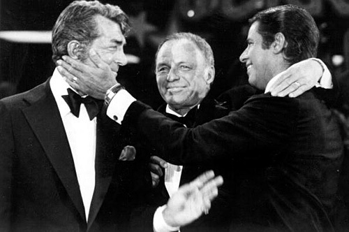Frank Sinatra, Dean Martin and Jerry Lewis