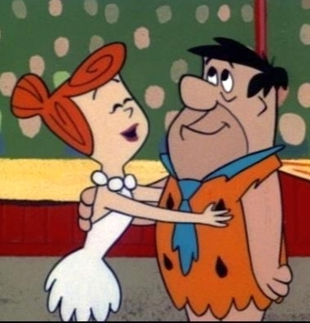 फ्रेड and Wilma Flintstone