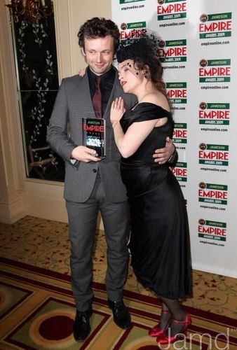 Michael Sheen and Helena Bonham Carter at the Jameson Empire Awards