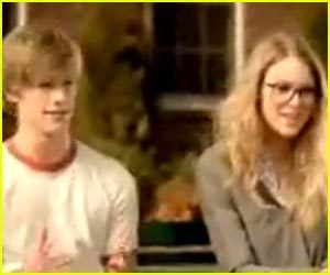 lucas and taylor - anda belong with me musik video