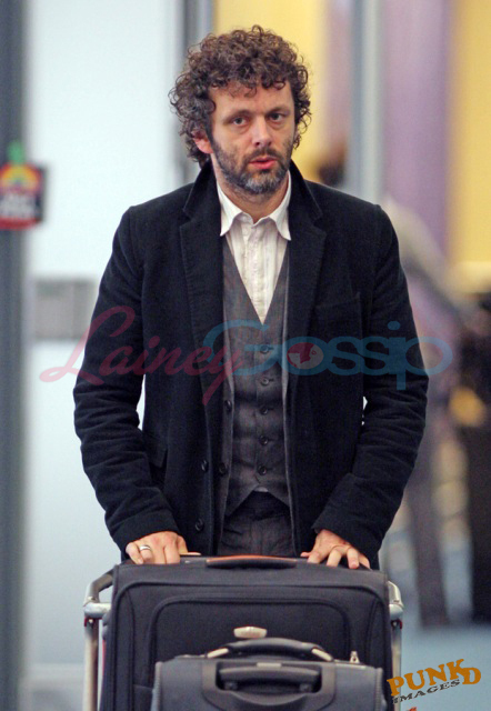 Michael Sheen arriving in Vancouver to shoot New Moon