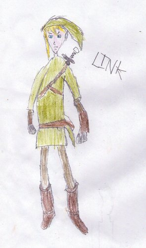 Rubbish Link Drawing