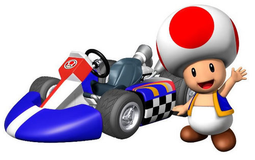 Toad & His Kart