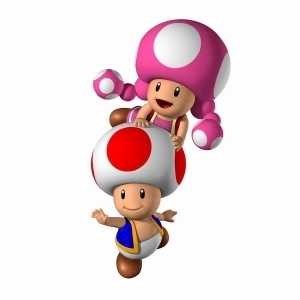 Toad & Toadette