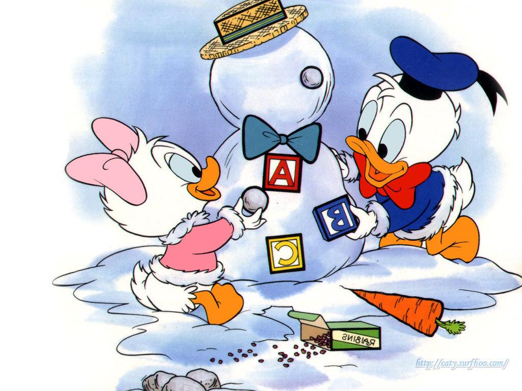 Baby Donald And デイジー アヒル 鴨 壁紙 ドナルドダック 壁紙