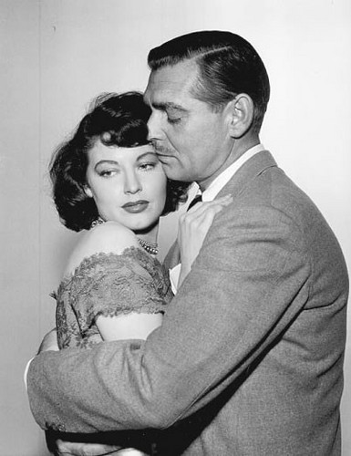 Clark Gable and Ava Gardner