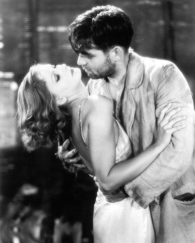Clark Gable and Greta Garbo