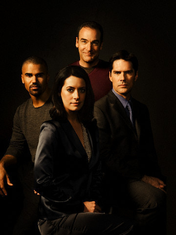 Hotch, Morgan, Emily, Gideon