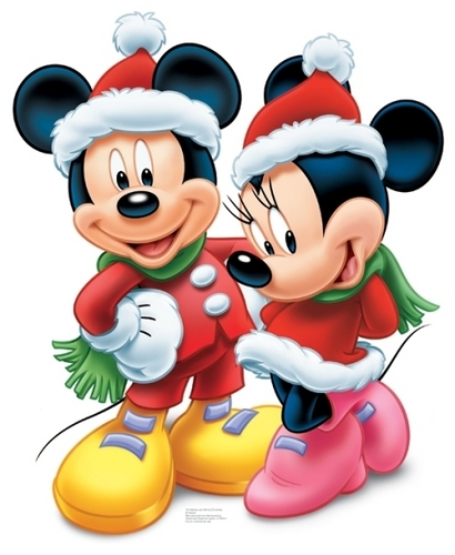 Mickey souris and Minnie souris