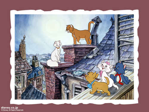 The Aristocats 壁纸