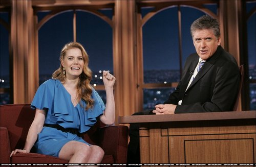 Amy on Craig Ferguson