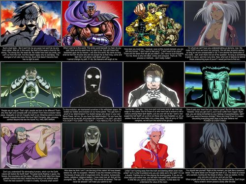 anime Legion of Doom